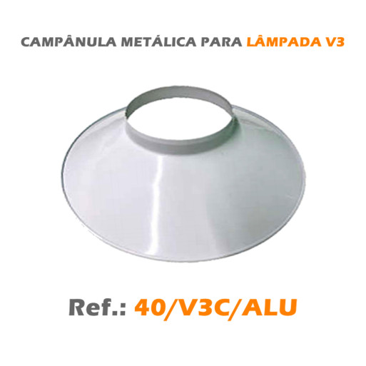 CAMPÂNULA METÁLICA