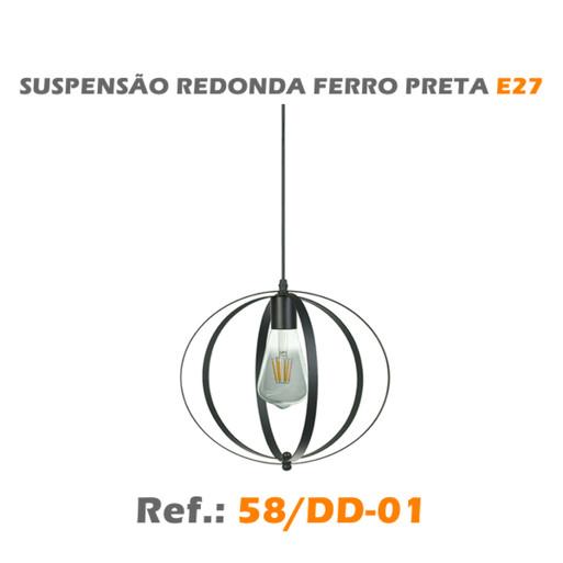 SUSPENSÃO REDONDA E27