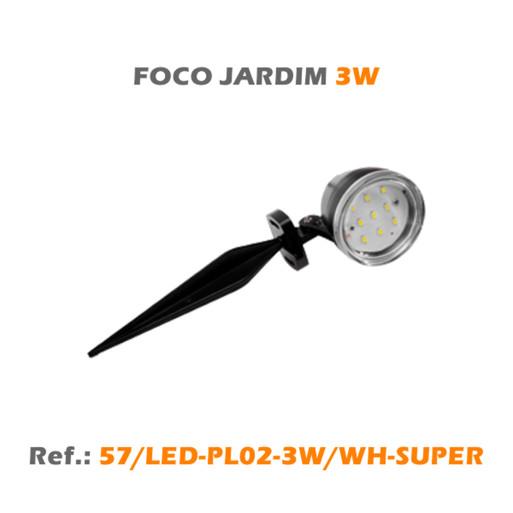 FOCO JARDIM 3W