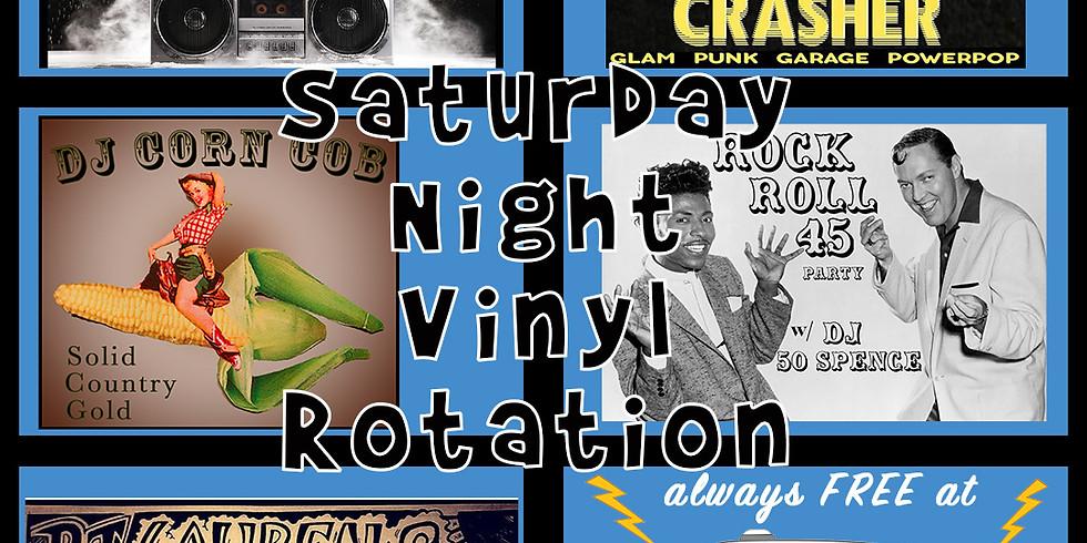 Saturday Night Vinyl Rotation