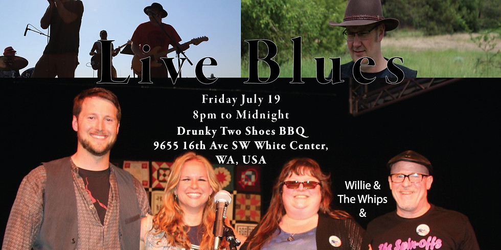 Lucky $7 Live Blues at Drunky's