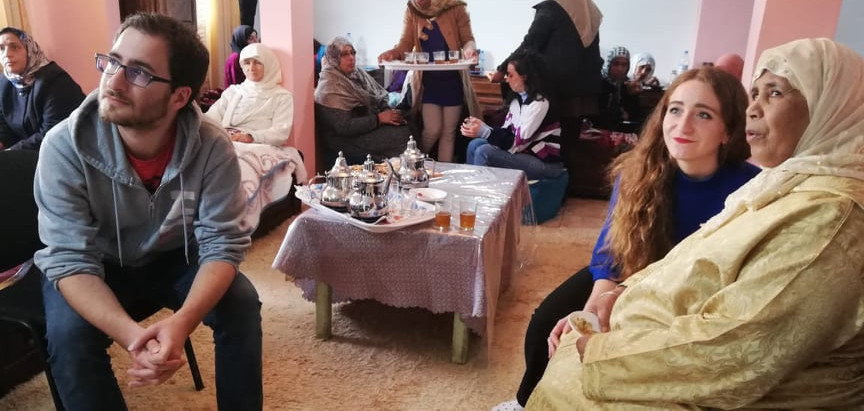 Arabic Language Cafe: Youth and volunteering