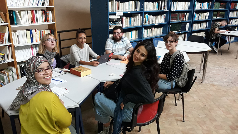 Arabic students volunteer in Morocco