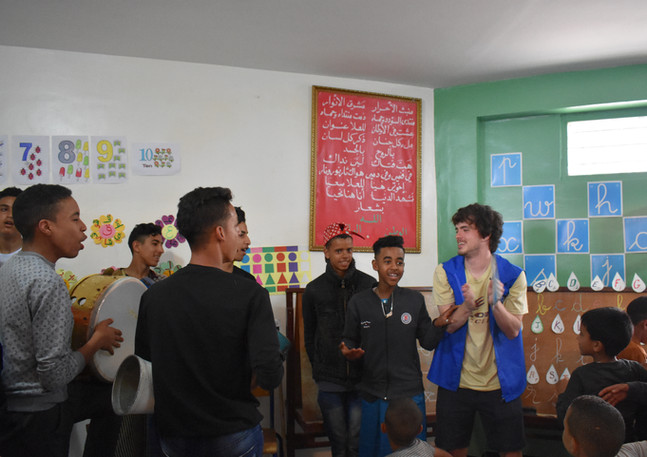 Qalam volunteers at Shamsy