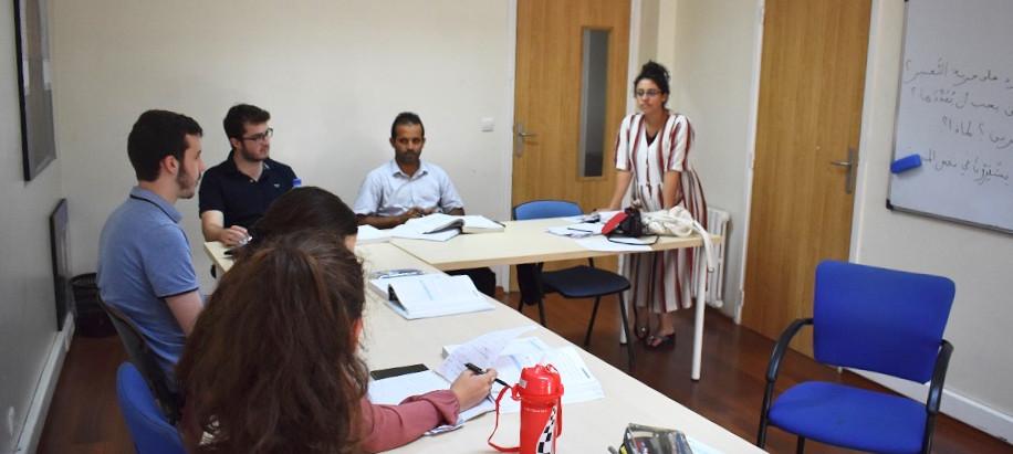 دورة تكوينية في تدريس العربية للناطقين بغيرها