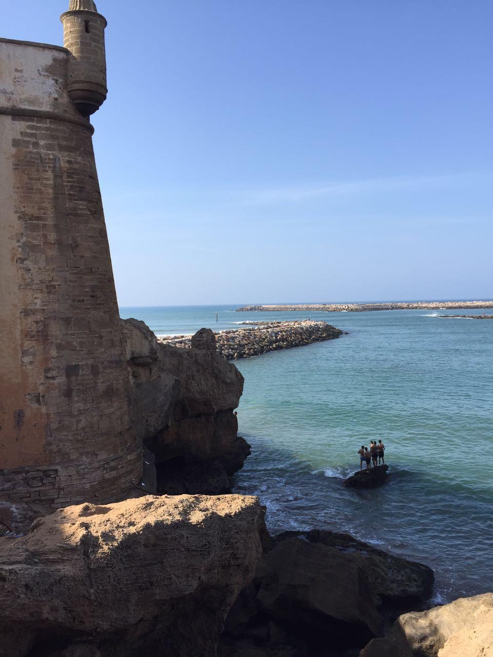 Rabat's beach
