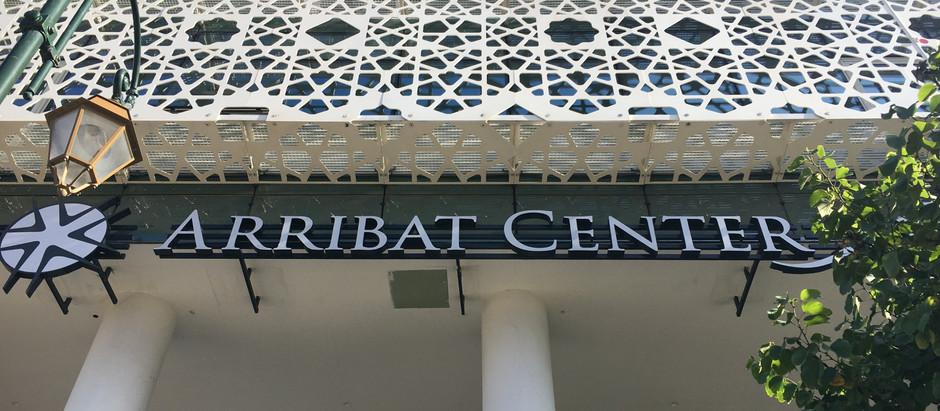 Arribat Center: Qalam wa Lawh is across the street from the new Rabat mall!