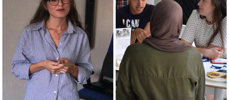 Arabic Students Working Towards Women Empowerment