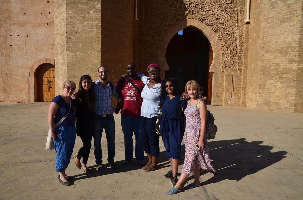 Arabic students in Morocco
