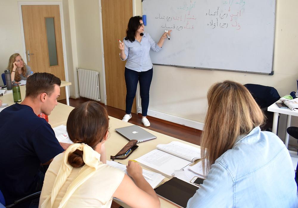 Arabic courses focus on communication
