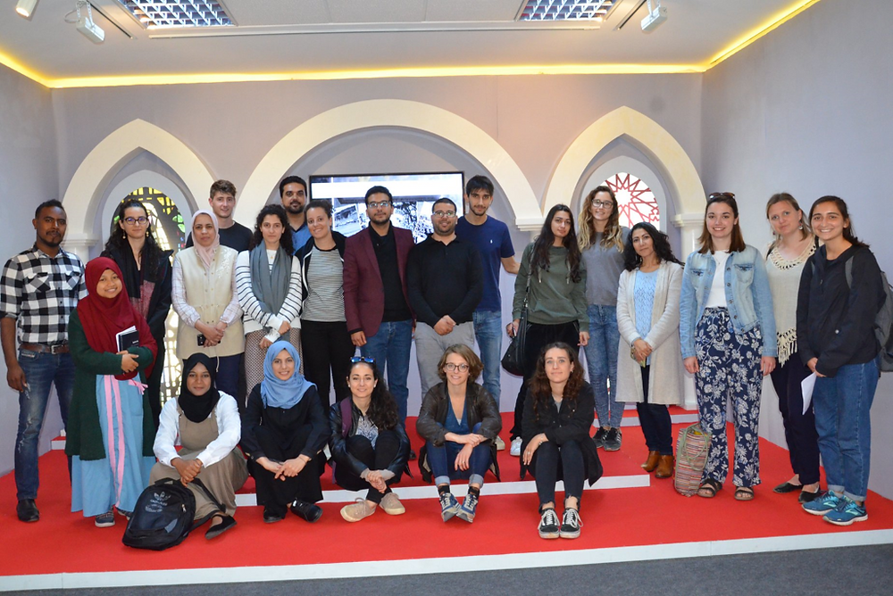 Arabic students at Moroccan National Archives