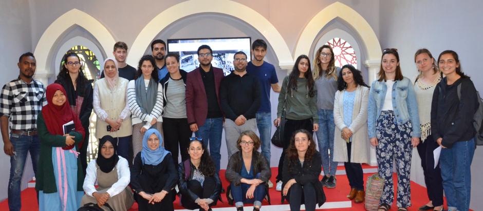 """زيارة مجموعة من طلبة مركز """" قلم ولوح"""" لمؤسسة أرشيف المغرب (A Student's Perspective)"""