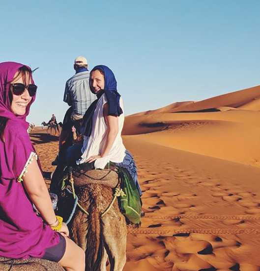 Arabic student Molly took part in several weekend trips with Qalam wa Lawh