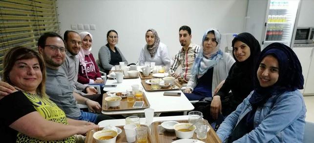 Arabic students enjoy Ramadan with their teachers
