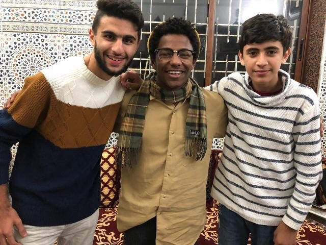 Moroccan families love Qalam student