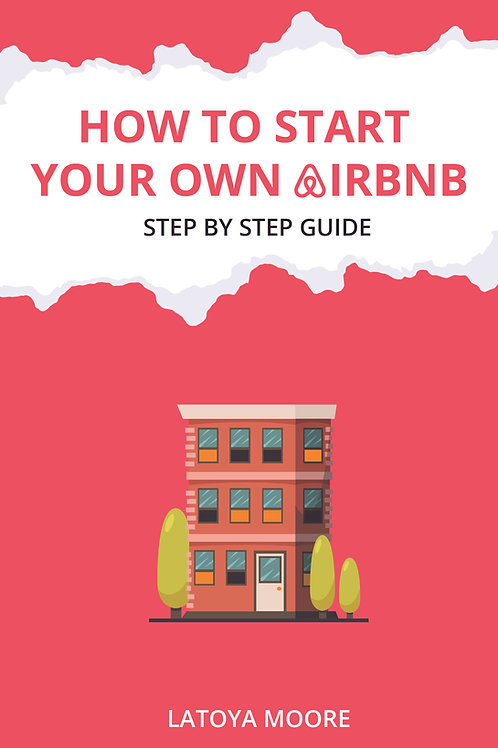 """""""How to Start Your Own Airbnb"""" Step by Step Guide Digital Download"""