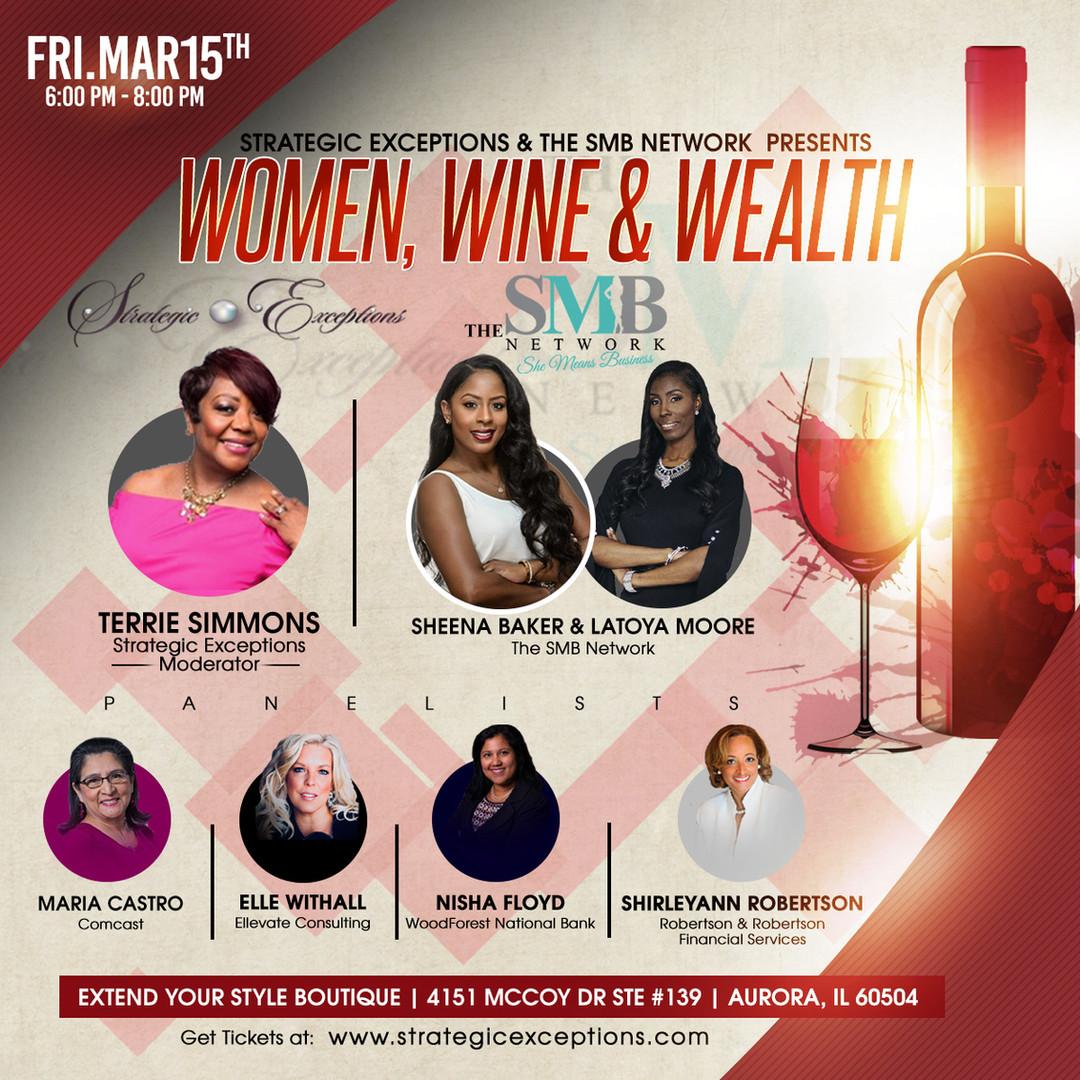 Women, Wine & Wealth - The SMB Network