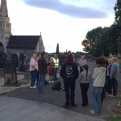 Hyde Park Cemetery Bat Walk 2016.JPG