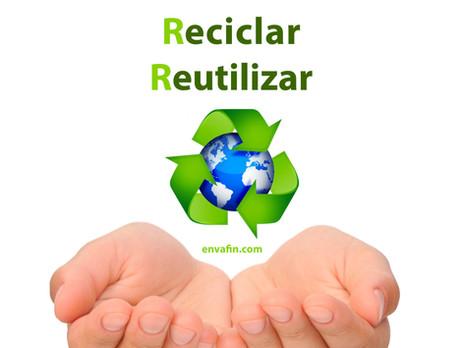 Ideas creativas con envases reciclados en el hogar