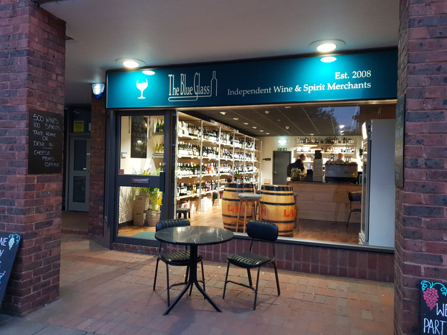 Blue Glass Bedford Wine Bar and Shop