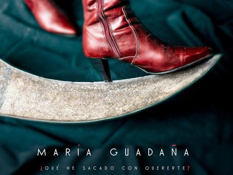 "María Guadaña nos ofrece una deslumbrante versión de ""Qué he sacado con quererte"""