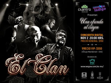 """El Clan ofrecerá """"Una Ofrenda al Origen"""" en concierto online"""