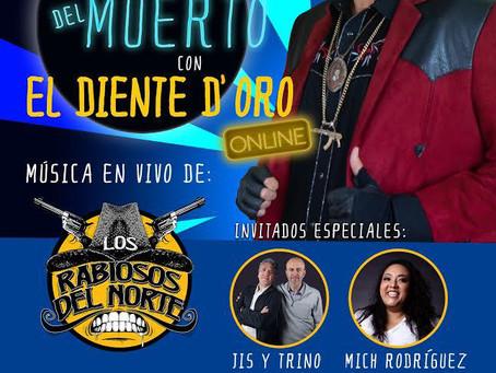 """El Diente D'Oro presentará un show online interactivo: """"El Petate del Muerto"""""""