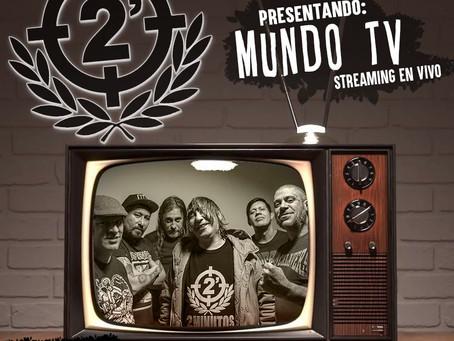 """2 MINUTOS REGRESA CON EL STREAMING """"LA SAGA MUNDO TV"""""""