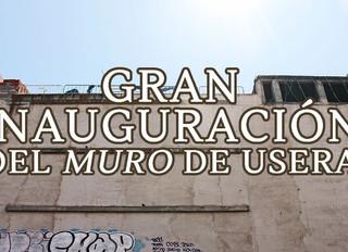 """Noticia: Estreno online de """"La gran inauguración del Muro de Usera"""""""