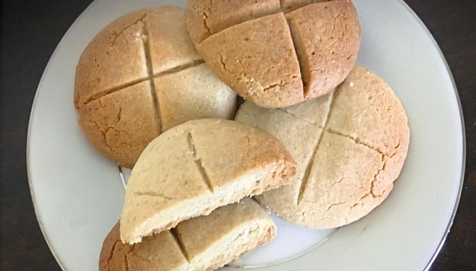 Nankathai (Sindhi Shortbread Cookies)