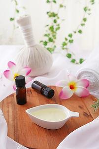 Thai Herb Ball and Massage Oils