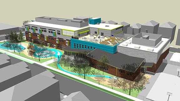 Architecture Elementary School t2-architecture | hannigan elementary school