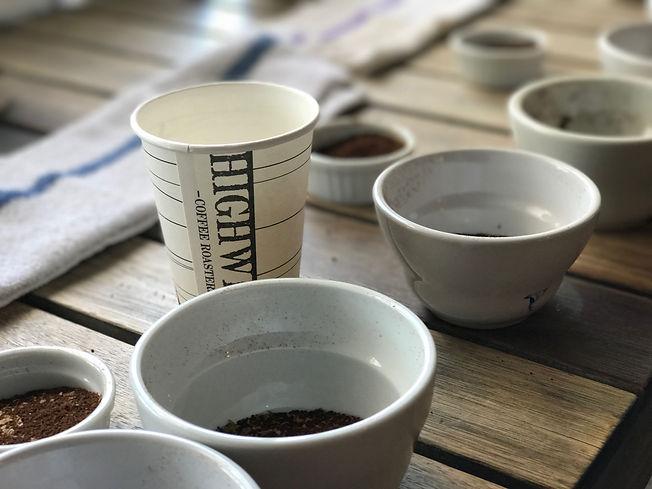 coffee tasting cups