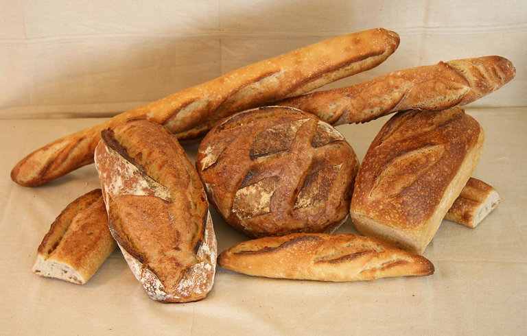 Loaves of ACME bread