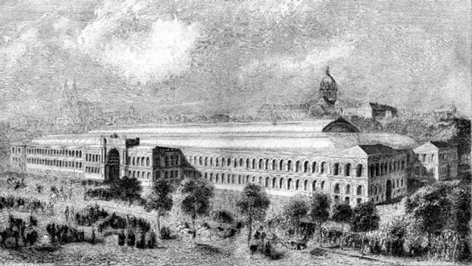 Expo 1855 Paris