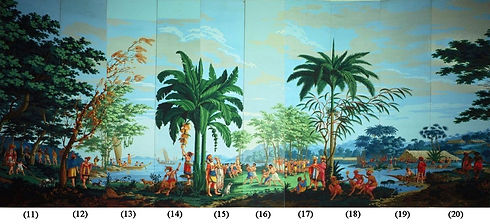 'Sauvages_de_la_Mer_Pacifique',_panels_11-20_of_woodblock_printed_wallpaper_designed_by_--