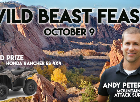 Evolve Proudly Sponsors 2018 Wild Beast Feast Men's Ministry Event