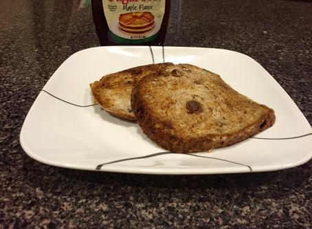 Cinnamon Raisin Ezekiel Bread French Toast