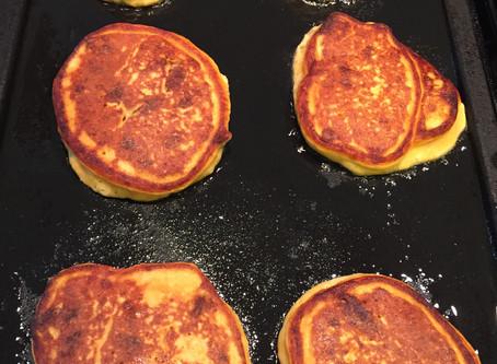 Sweet Potato Protein Pancake Recipe