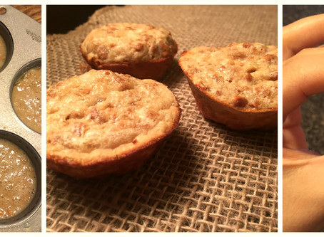 Banana Protein Packed Muffins