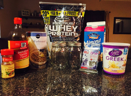 Vanilla Protein Parfait Recipe.  No Time For Food Prep In The AM?! We Have Got You Covered (For The