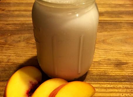 Peach Perfection Protein Smoothie