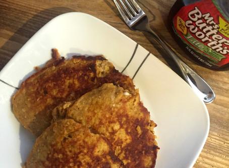 Pumpkin Protein Pancakes