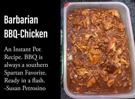Barbarian BBQ Chicken, Instant Pot (IP) Recipe