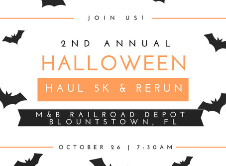 Join Us For The Halloween Haul 5K for Charity Event!