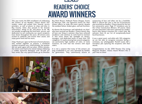 Evolve Wins Reader's Choice Award for 2nd Consecutive Year!