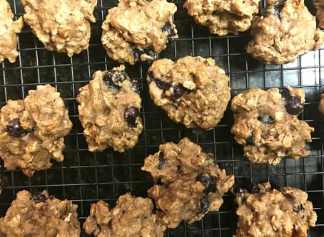 Addictive Blueberry Pecan Cookies