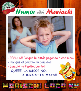 Chiste Lambio Mariachi Loco de NY mariac