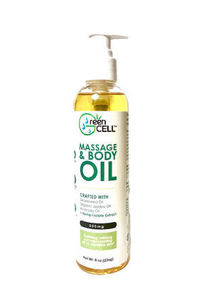 Massage & Body Oil CBD 500mgs