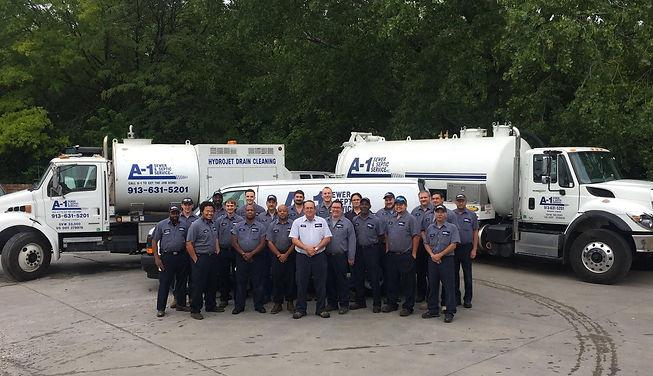 A1 Sewer & Septic Plumbing Company Team.jpg